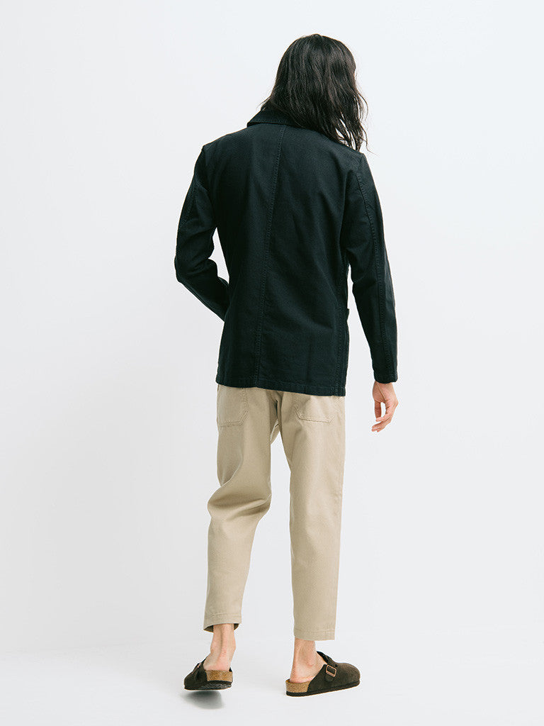 Vetra Cotton Twill Chore Coat - GENTRY NYC - 3