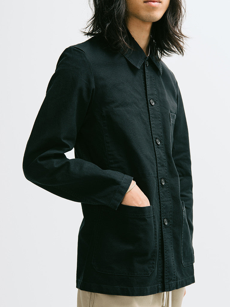 Vetra Cotton Twill Chore Coat - GENTRY NYC - 4
