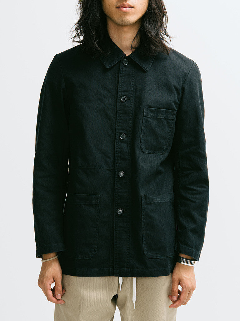 Vetra Cotton Twill Chore Coat - GENTRY NYC - 6