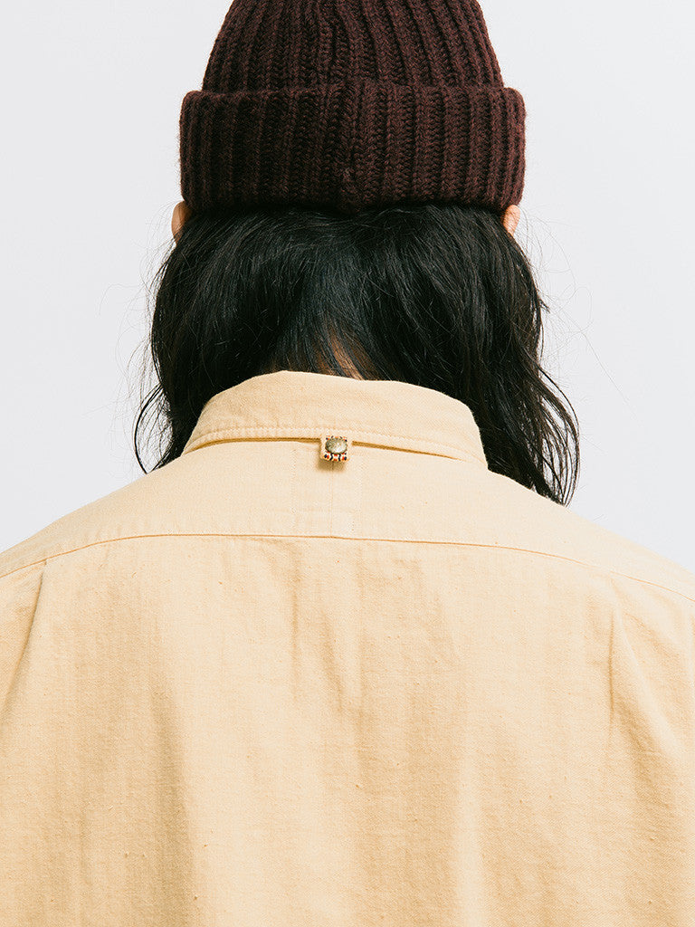 visvim Long Rider Knit Border Overdyed Shirt - GENTRY NYC - 5