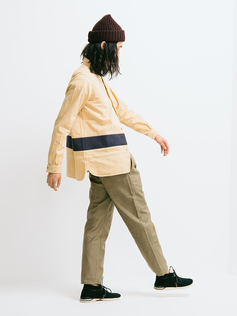 visvim Long Rider Knit Border Overdyed Shirt - GENTRY NYC - 2
