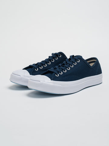 Converse JACK PURCELL SIGNATURE JUNGLE CLOTH-NIGHTTIME NAVY - GENTRY NYC - 1