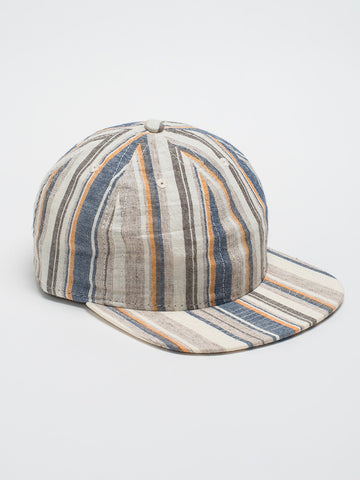 FairEnds BEIGE MULTI STRIPE BALL CAP - GENTRY NYC