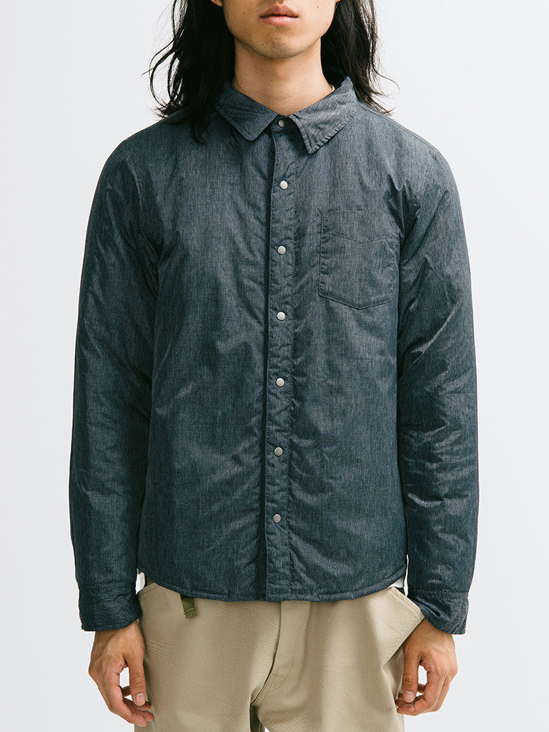 Gant Diamond G Reversible Down Shirt Jacket - GENTRY NYC - 6