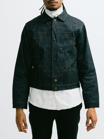 Kapital 12oz Denim Thunderbird Jacket - GENTRY NYC - 1