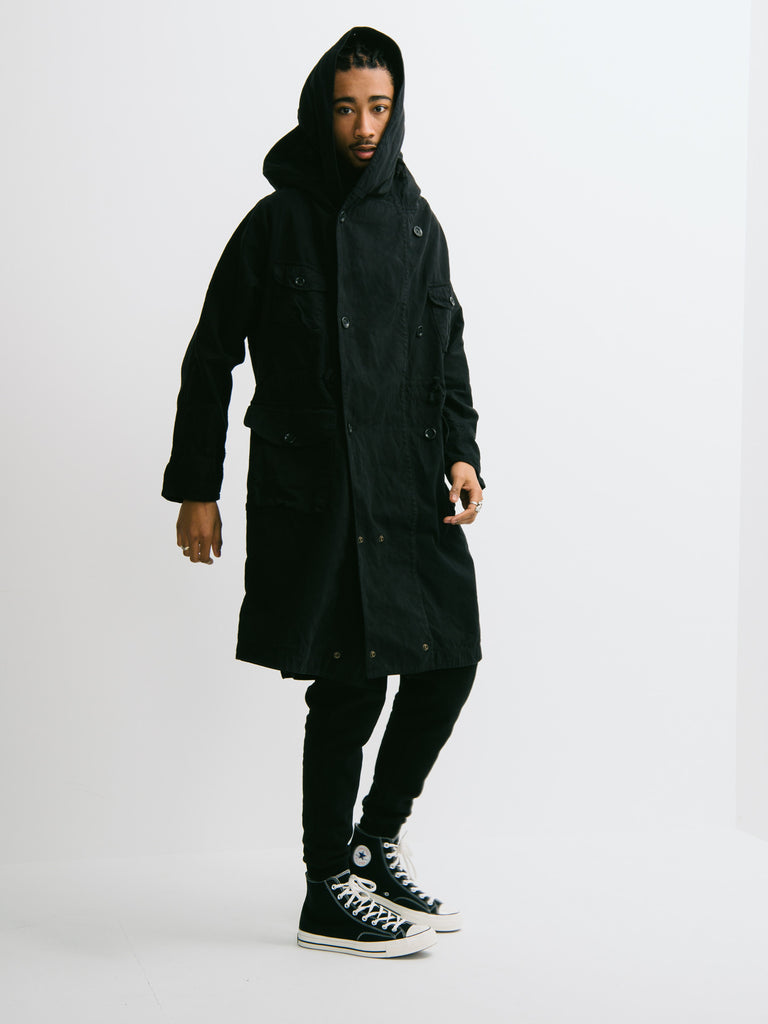 Kapital Katsuragi Cotton Tall Ring Coat - GENTRY NYC - 7