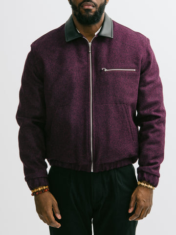 Patrik Ervell Wool Felt Mechanics Jacket - GENTRY NYC - 1