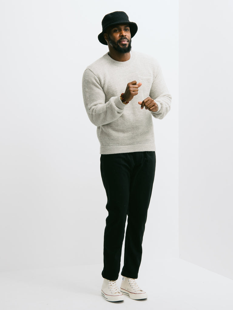 Patrik Ervell Alpaca Pocket Sweater - GENTRY NYC - 1