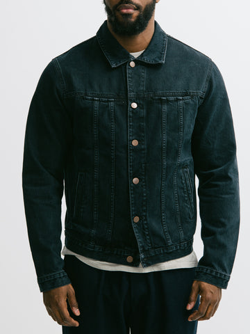Patrik Ervell Overdyed Denim Jacket - GENTRY NYC - 1
