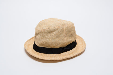 Paper-Cloth Short Brim Hat