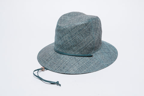 Paper-Cloth Hat with Chin Chord