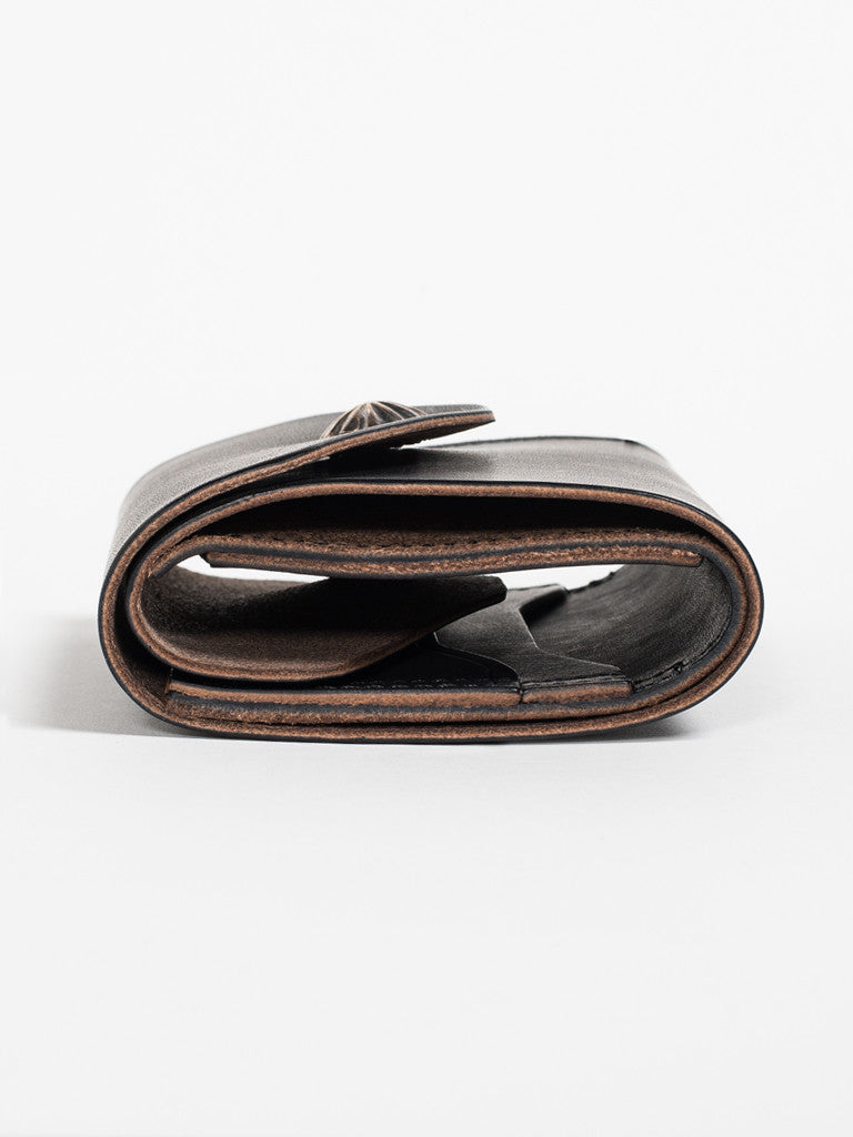 Larry Smith CONCHA WALLET - BLACK - GENTRY NYC - 2