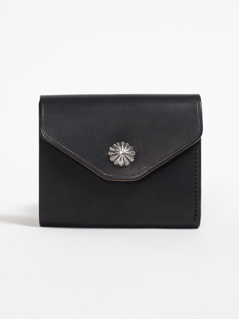 Larry Smith CONCHA WALLET - BLACK - GENTRY NYC - 1