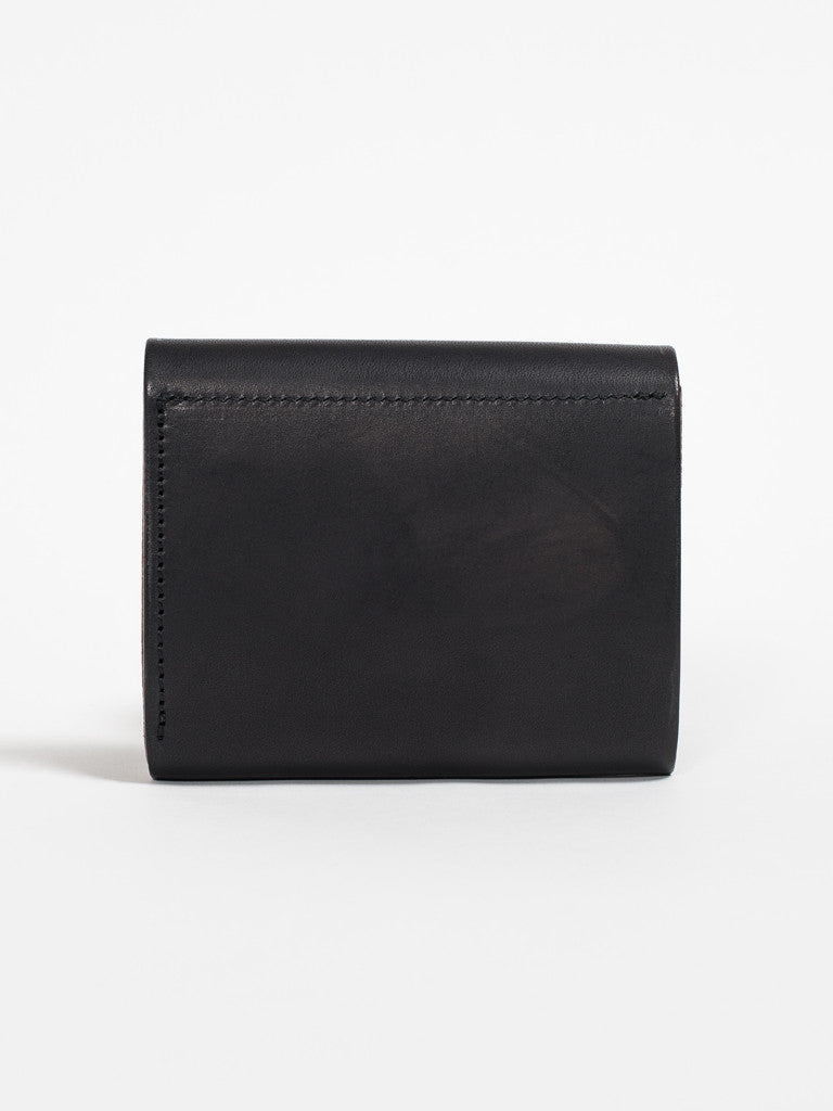 Larry Smith CONCHA WALLET - BLACK - GENTRY NYC - 4