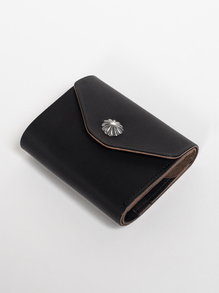 Larry Smith CONCHA WALLET - BLACK - GENTRY NYC - 3