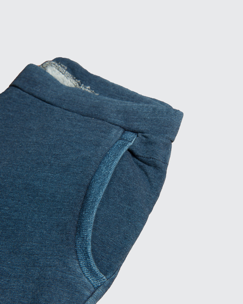 Indigo Slim Sweatpants