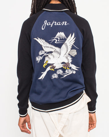 Eagle Embroidery Bomber Jacket