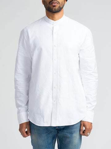 Salvatore Piccolo BUTTON DOWN SHIRT-COLOR BIANCO - GENTRY NYC - 1