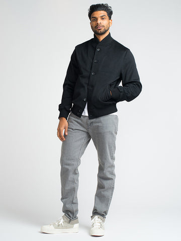 Orslow 107 SLIM - BLEACHED BLACK - GENTRY NYC - 1