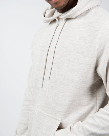 Long Sleeve Hoody - Archive Grey Melange