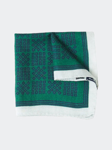 Alex Mill Moroccan Grid Pocket Square - GENTRY NYC - 1
