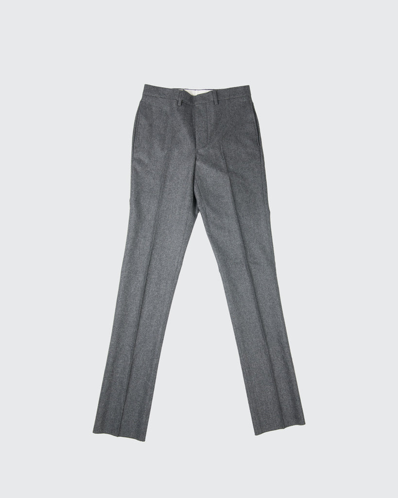Paul Pants Loro Piana Flannel-Grey