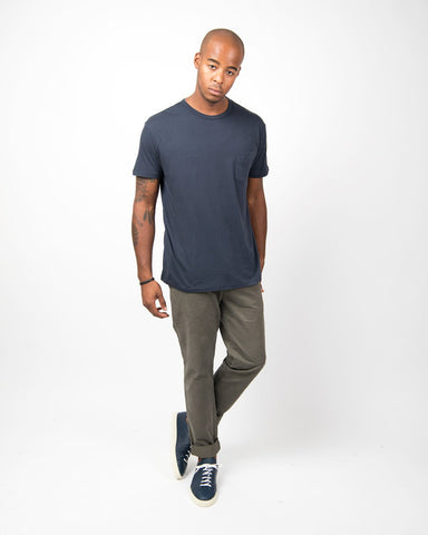 Pocket Tee Short-Sleeve Ultra Light Jersey Dye-Navy