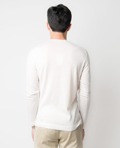 Lightweight Cashmere Pocket Tee