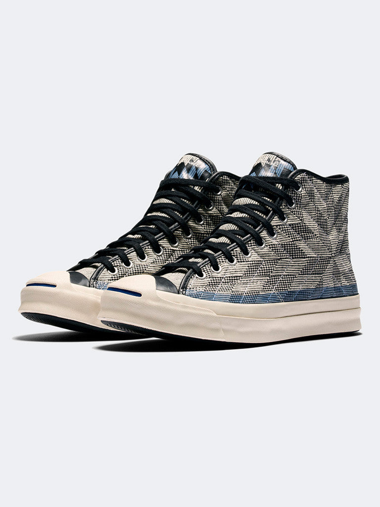 Converse Jack Purcell Signature Quilted High Top - GENTRY NYC - 6