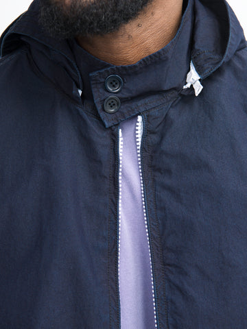 Indigo Cotton Nylon Jacket