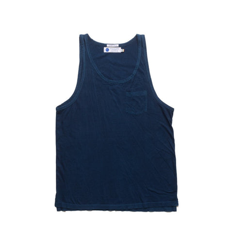Clean Pocket Tank - 12 Dips Indigo