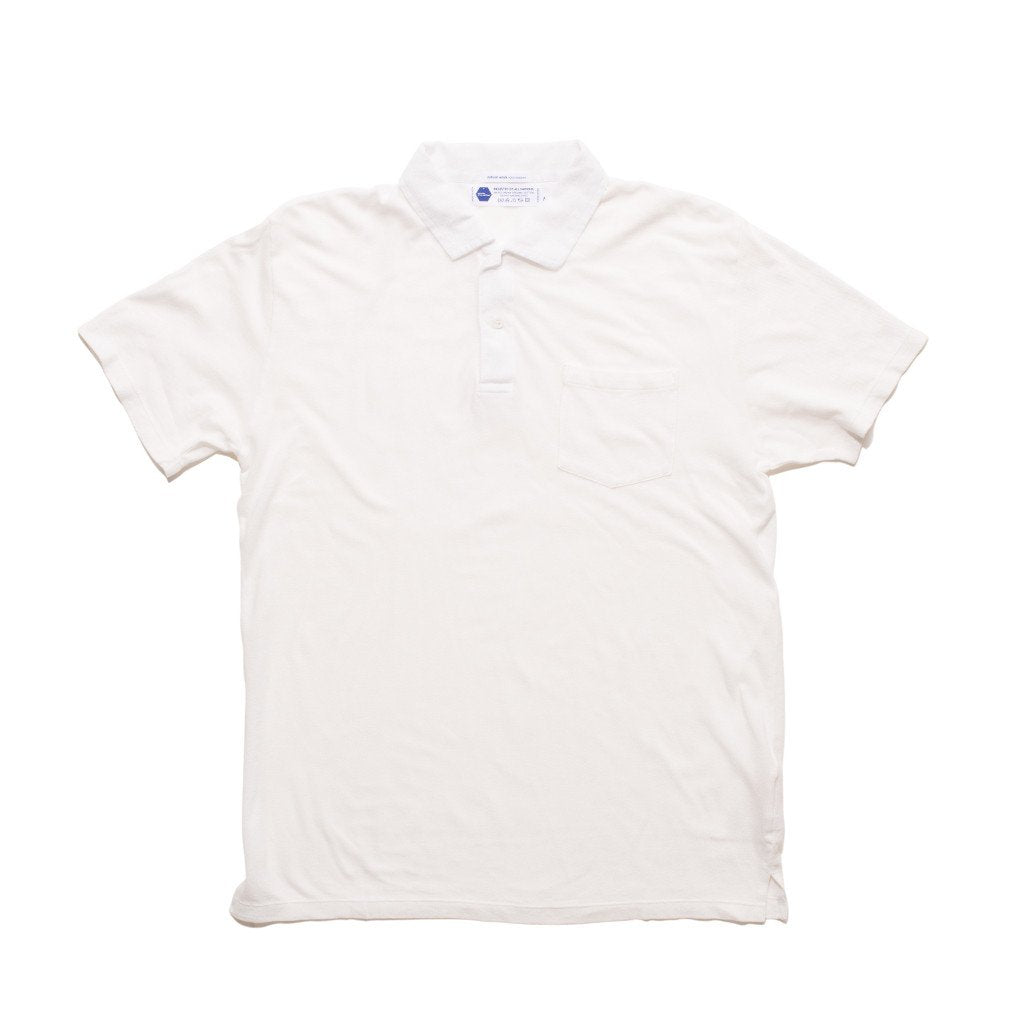 Clean Polo - White