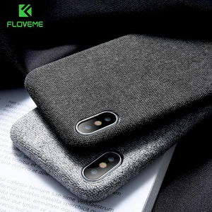 Luxury Fabric Phone Cover - So Suave