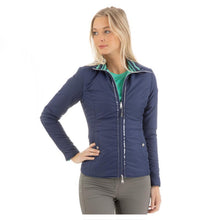 Load image into Gallery viewer, ANKY® Reversible Jacket - Dark Blue / Teal Green