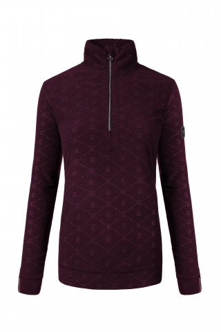 Ovideo Fleece Top Wildberry - Cavallo