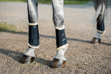 Load image into Gallery viewer, Forest Green Brushing Boots - Equestrian Stockholm