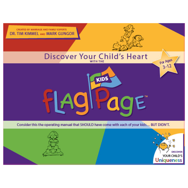 Kids Flag Page Game