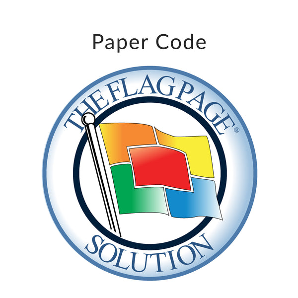Flag Page Code (Paper)
