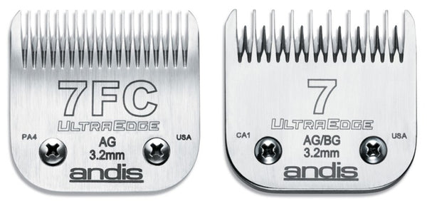 ST and FC blade teeth