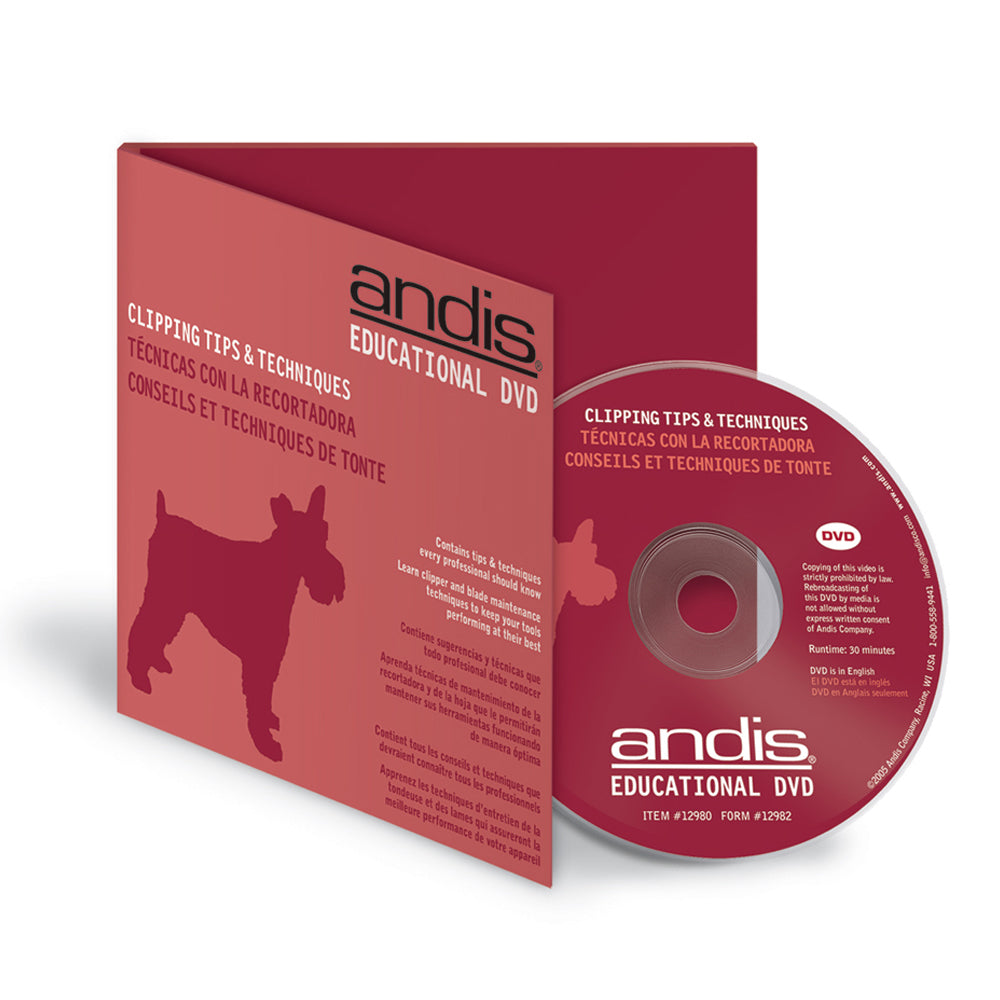 Andis® DVD - Clipping Tips & Techniques