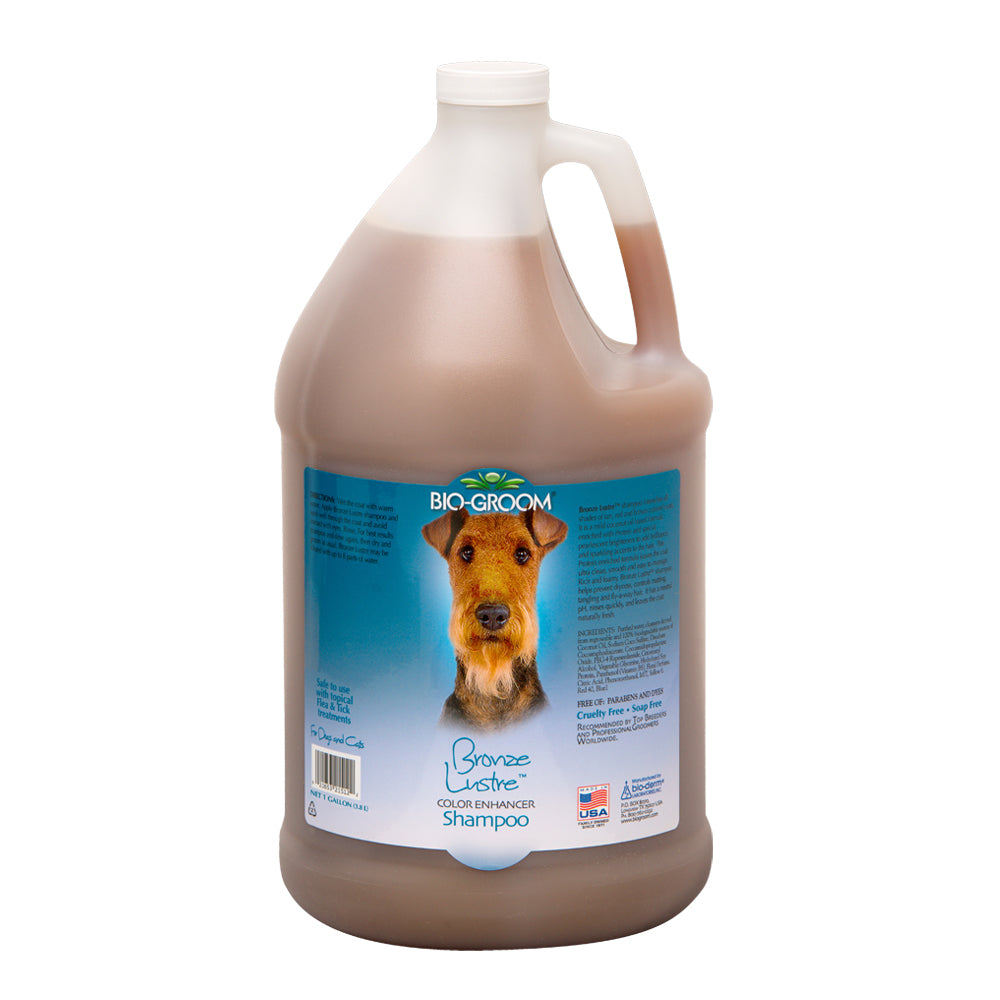 Bio-Groom Bronze Lustre Colour Enhancer Shampoo 3.8 L
