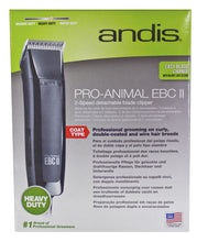 Load image into Gallery viewer, Andis EBC II 2 Speed Clipper with Starter Kit