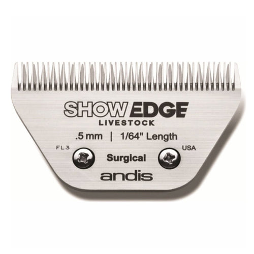 Andis Show Edge Equine Size 30 Wide Blade - 0.5mm