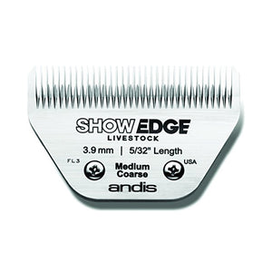 Andis Show Edge Equine / Livestock Size 7 Wide Blade - 3.9mm