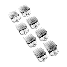 Load image into Gallery viewer, Andis® Magnetic Chrome Comb Set 8pk (Product)