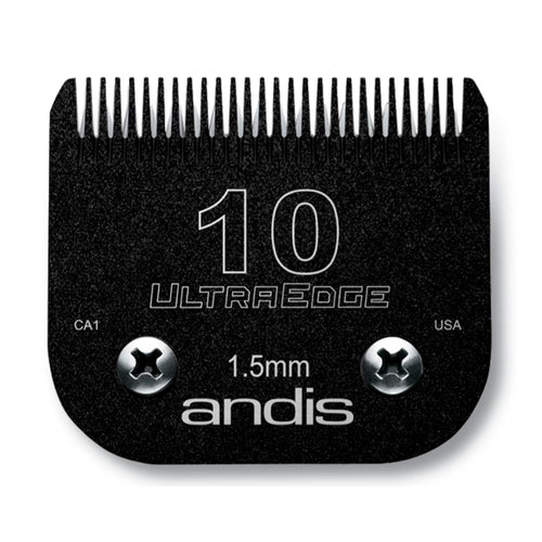 Andis EGT UltraEdge Size 10 Charcoal Blade - 1.5mm