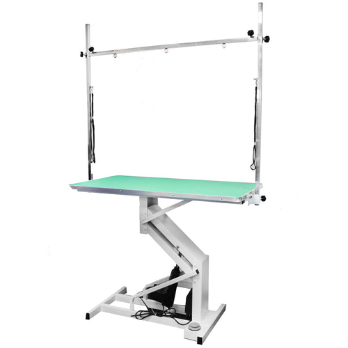 Beaumont Electric Lift Grooming Table 110cm - Teal