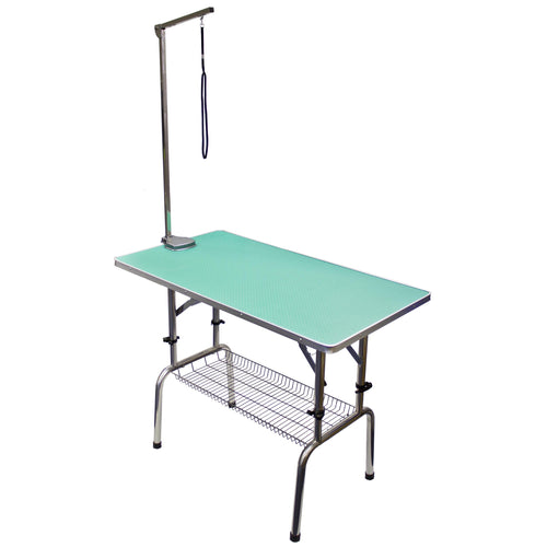 Beaumont Foldable Adjustable Table 110cm - Teal