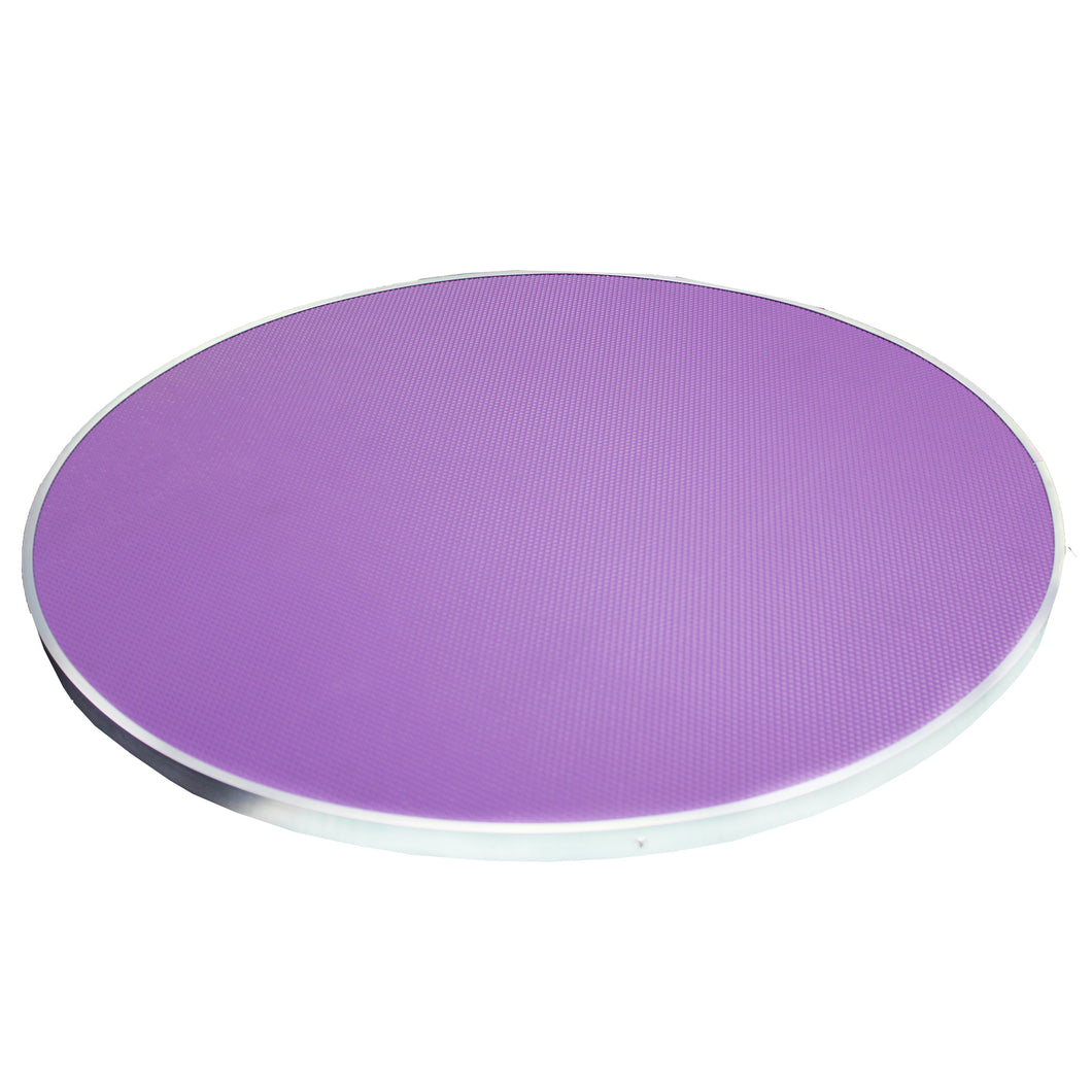 Beaumont Lazy Susan Portable Top 70cm - Purple