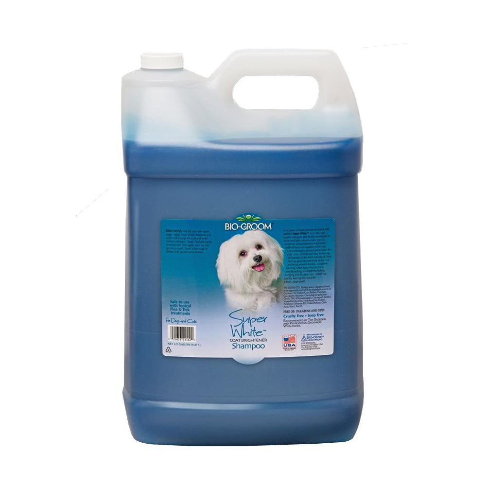 Bio-Groom Super White Shampoo 2.5 gal /  9.47 litre